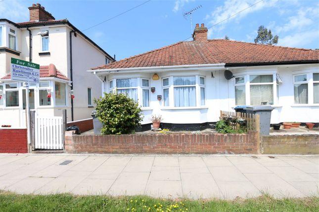 Thumbnail Semi-detached bungalow for sale in Beaumont Avenue, Wembley