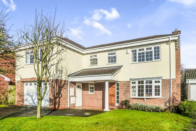Thumbnail Detached house for sale in Luddington Road, Solihull