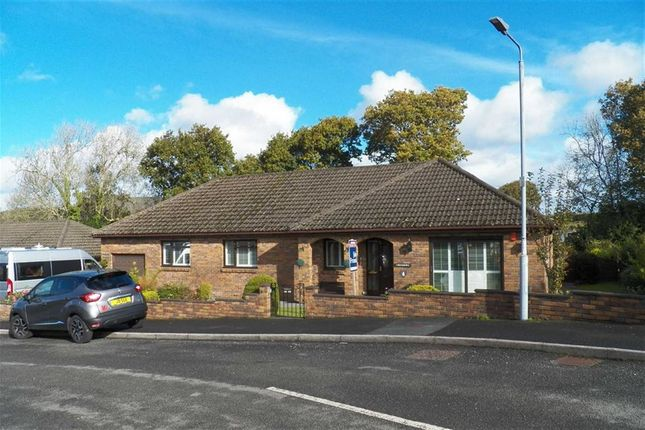Thumbnail Detached bungalow for sale in Maesglasnant, Cwmffrwd, Carmarthen