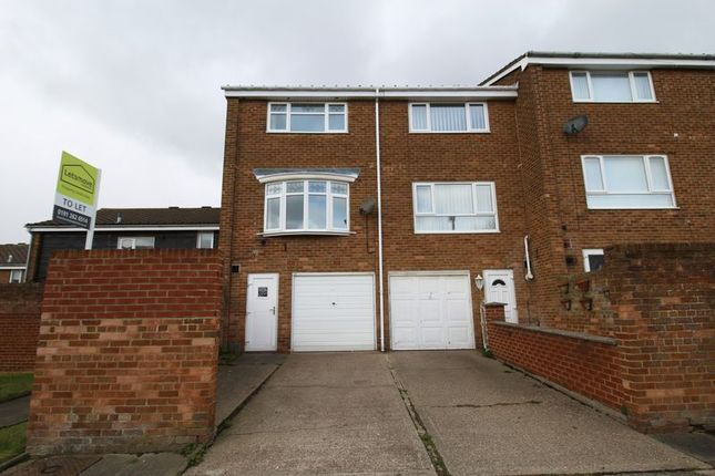 Thumbnail Terraced house to rent in Bromley Gardens, Wallsend