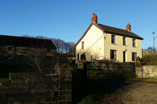 Thumbnail Farmhouse to rent in Maesymeillion, Llandysul, Ceredigion, West Wales