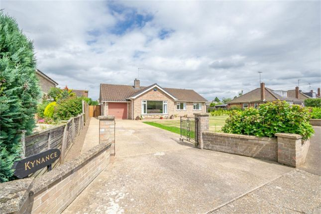 Thumbnail Detached bungalow for sale in Toll Bar, Fakenham