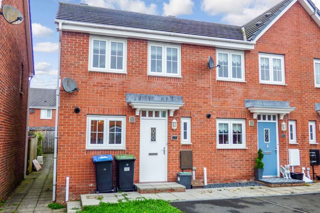 Thumbnail Terraced house to rent in The Grove, Consett