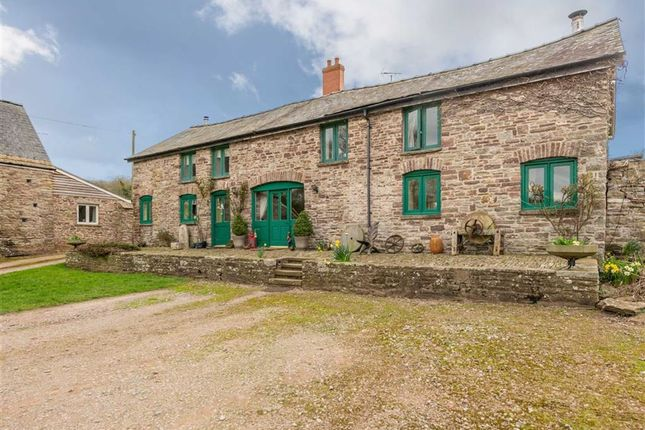 Thumbnail Semi-detached house for sale in Upper Maerdy Farm, Llangeview, Near Usk, Monmouthshire