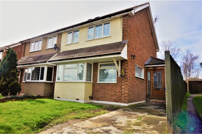 Thumbnail Semi-detached house for sale in Chichester Close, South Ockendon
