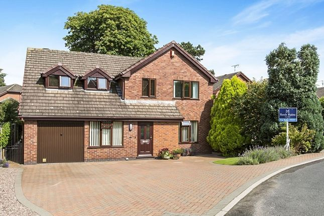 Thumbnail Detached house for sale in Walnut Rise, Congleton