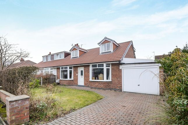 Thumbnail Bungalow for sale in Hawthorn Avenue, Haxby, York