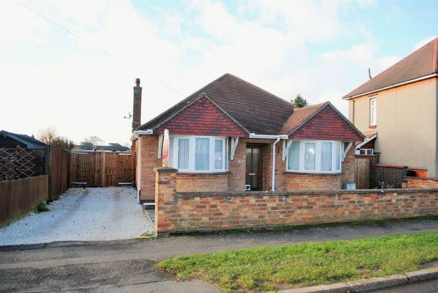 Thumbnail Detached bungalow for sale in Greenhills Road, Whitehills, Northampton
