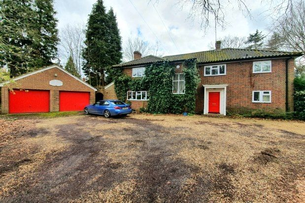 Thumbnail Property to rent in Branksomewood Road, Fleet