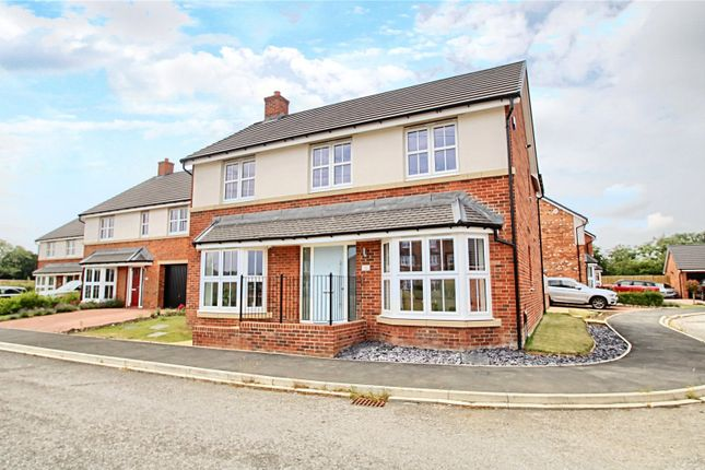 Thumbnail Detached house for sale in Linden Crescent, Yarm