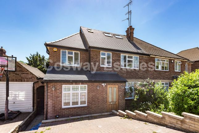 Thumbnail Semi-detached house to rent in The Reddings, Mill Hill