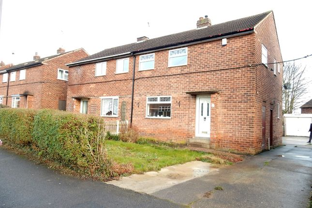 Thumbnail Semi-detached house for sale in Holmefield Road, Whitwell, Worksop
