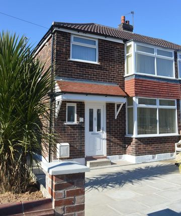 Thumbnail Semi-detached house to rent in Balmoral Grange, Prestwich, Manchester