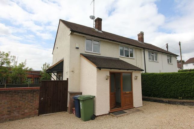 Thumbnail End terrace house to rent in Holtspur Lane, Wooburn Green, High Wycombe