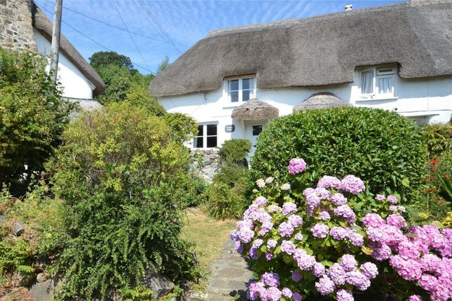 Thumbnail End terrace house for sale in Higher Brimley, Bovey Tracey, Newton Abbot, Devon