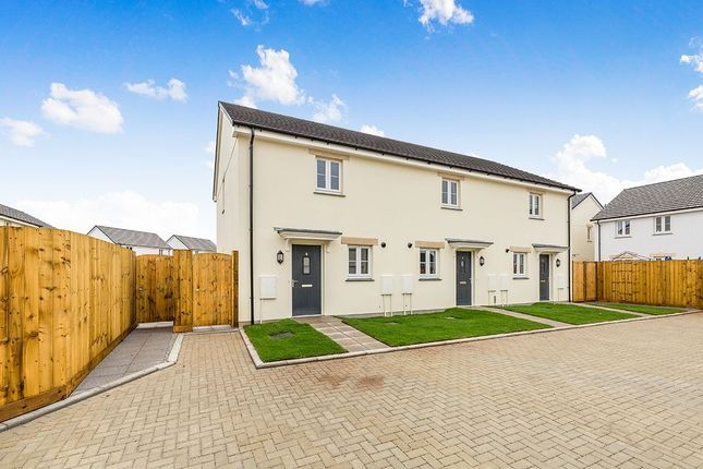 Thumbnail Semi-detached house for sale in Barberry Way, West Seaton, Camborne