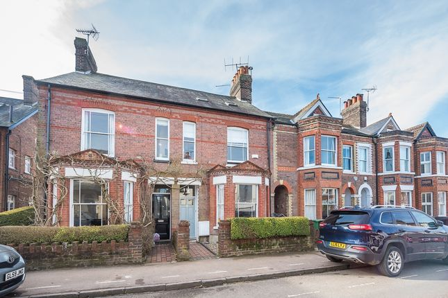 Thumbnail Terraced house to rent in Cowper Road, Harpenden