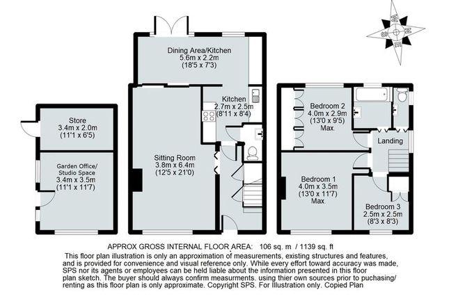 Floor Plan of Queens Avenue, Kidlington OX5