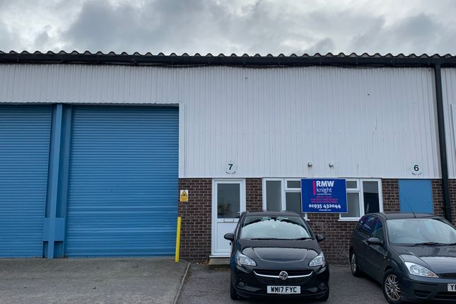 Thumbnail Light industrial to let in Units 6/7 Bartlett Park, Gazelle Road, Yeovil