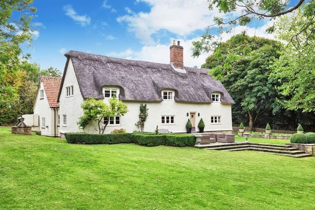 Thumbnail Detached house for sale in Dullingham Ley, Nr. Newmarket, Cambridgeshire