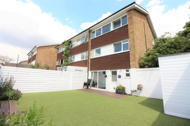 Thumbnail End terrace house for sale in Tufton Gardens, West Molesey