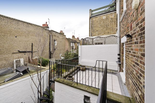 Roof Terrace of Marloes Road, London W8