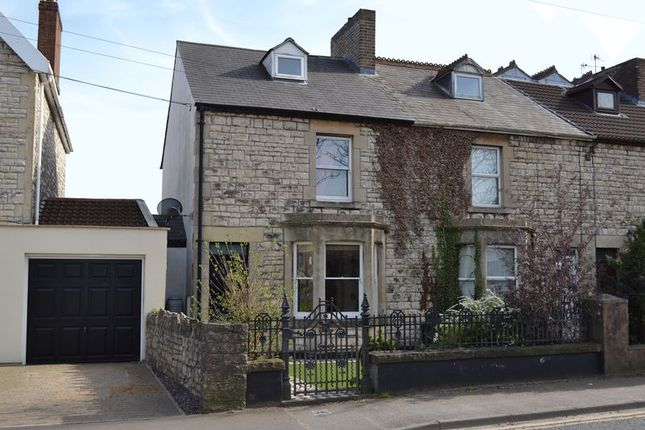 Thumbnail End terrace house for sale in North Road, Midsomer Norton, Radstock