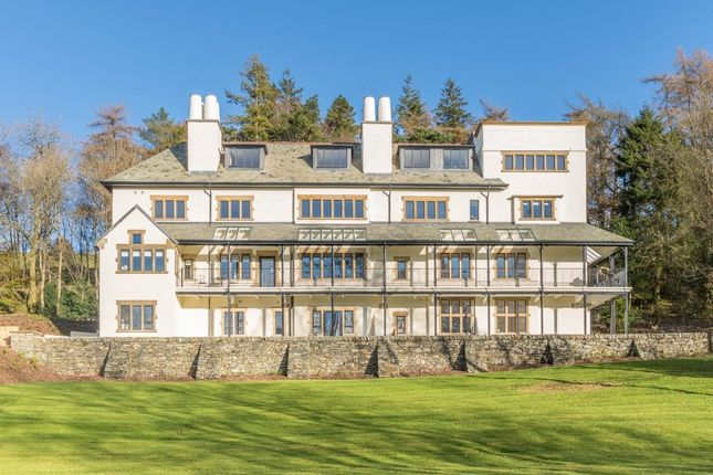 Thumbnail Flat for sale in Apartment 10, Applethwaite Hall, Windermere