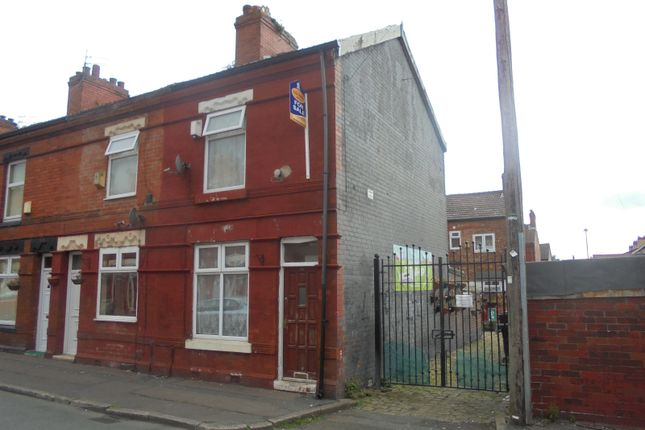 Thumbnail End terrace house to rent in Hemmons Road, Manchester