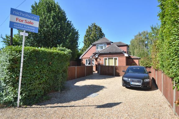 Thumbnail Property for sale in Atbara Road, Church Crookham, Fleet