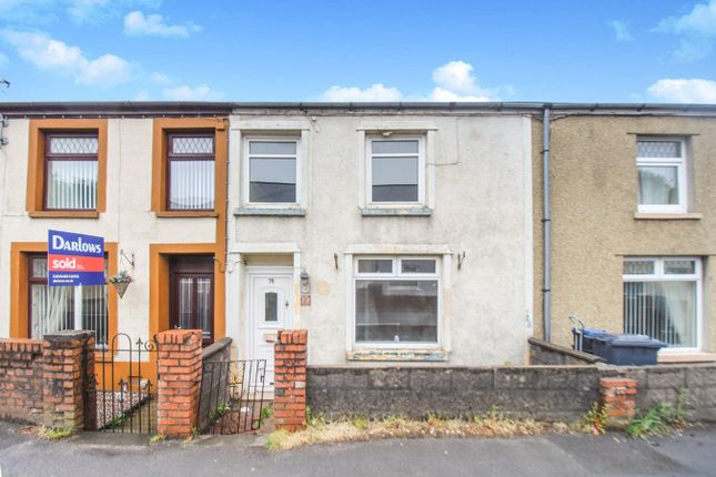 Thumbnail 3 bed terraced house for sale in Beaufort Hill, Beaufort, Ebbw Vale