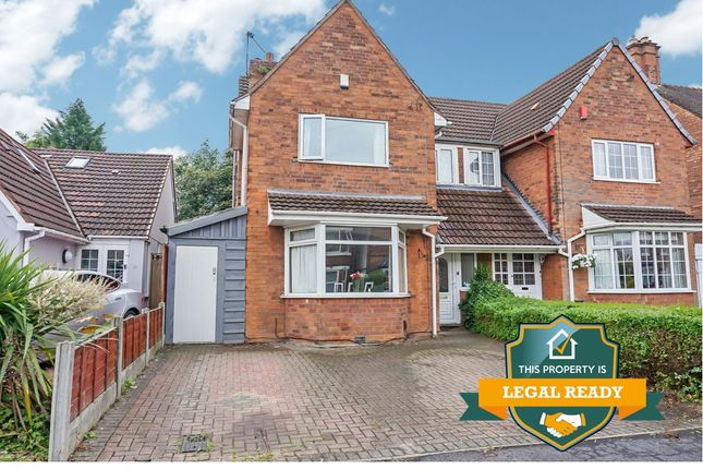Thumbnail Semi-detached house for sale in Florence Road, Wylde Green, Sutton Coldfield
