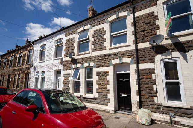 Thumbnail Terraced house to rent in Railway Street, Splott, Cardiff