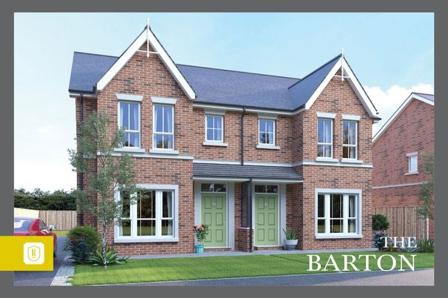 Thumbnail Semi-detached house for sale in Rowanvale, Green Road, Bangor