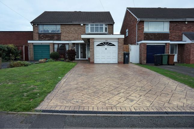 Thumbnail Semi-detached house for sale in Stourmore Close, Willenhall