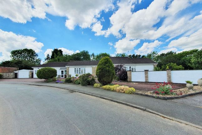 Thumbnail Detached bungalow for sale in Maytree Drive, Kirby Muxloe, Leicester