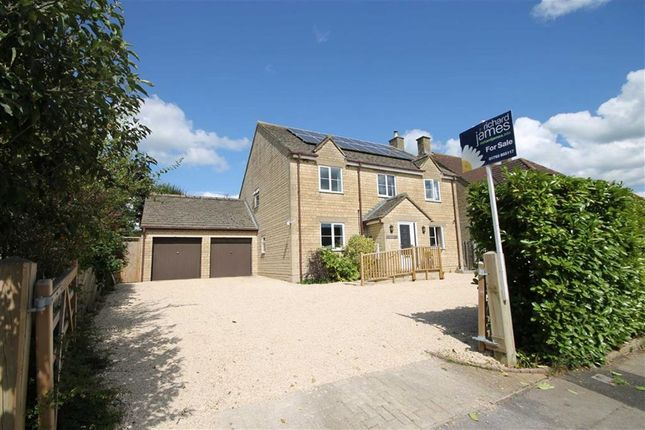 Thumbnail Detached house for sale in The Street, Chippenham, Wiltshire