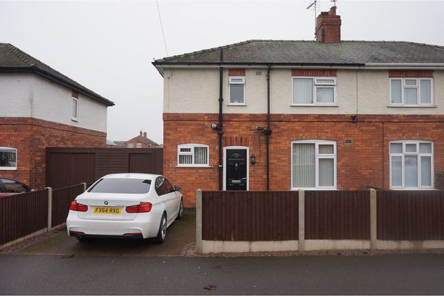 Thumbnail Semi-detached house to rent in Chestnut Avenue, Newark