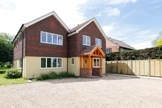Thumbnail Detached house for sale in New Hall Lane, Small Dole, Henfield, West Sussex