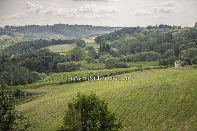 Land for sale in San Gimignano, Tuscany, Italy