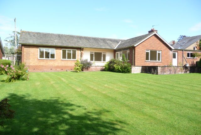 Thumbnail Bungalow to rent in St Georges Crescent, Stanwix, Carlisle