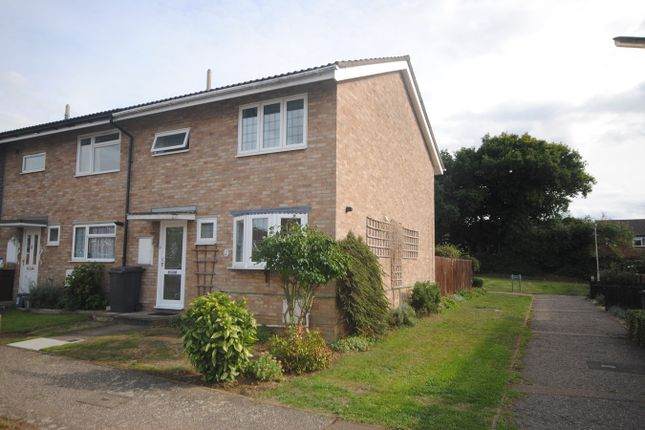 Thumbnail End terrace house for sale in Wellington Close, Chelmsford