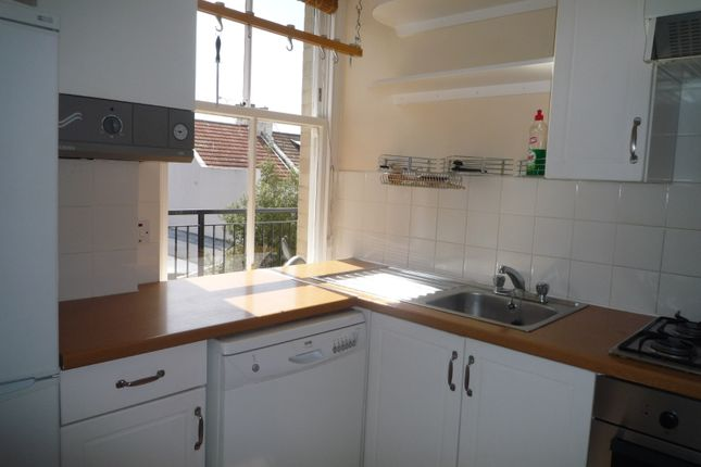 Thumbnail Flat to rent in Byron Street, Hove