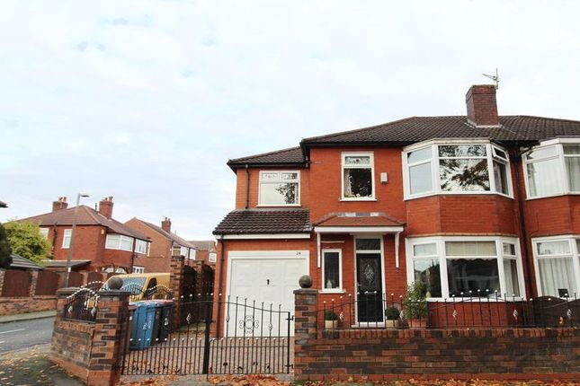 Thumbnail Semi-detached house for sale in Ashley Drive, Swinton, Manchester