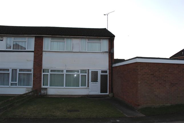 3 bed end terrace house to rent in Clarkes Way, Houghton Regis, Dunstable LU5