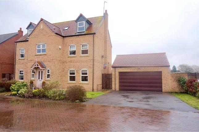 Thumbnail Detached house for sale in Saffron Way, Crowle, Scunthorpe