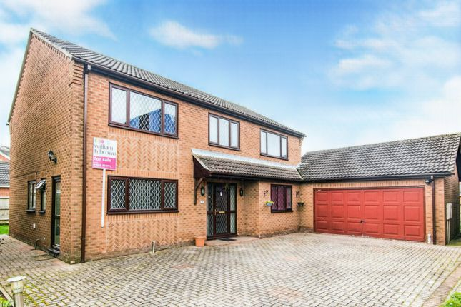 4 bed detached house for sale in Bellwood Grange, Cherry Willingham, Lincoln LN3