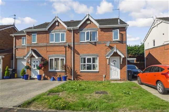 Thumbnail Semi-detached house for sale in Maldon Drive, Victoria Dock, Hull, East Yorkshire