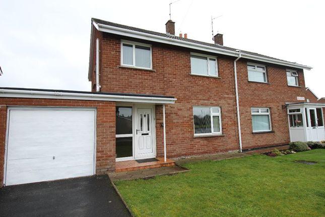 Thumbnail Semi-detached house for sale in Pollock Drive, Lurgan, Craigavon