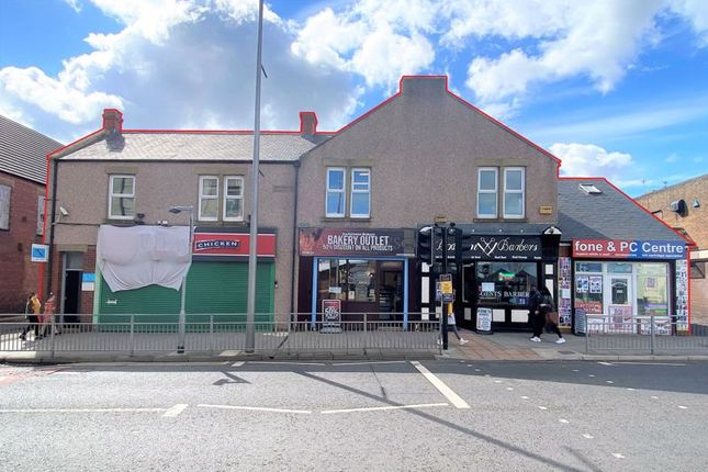 Thumbnail Commercial property for sale in 1 - 5 Poplar Buildings, Woodhorn Road, Ashington